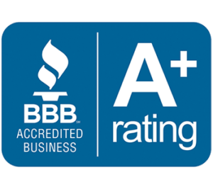 better business bureau logo A plus rating